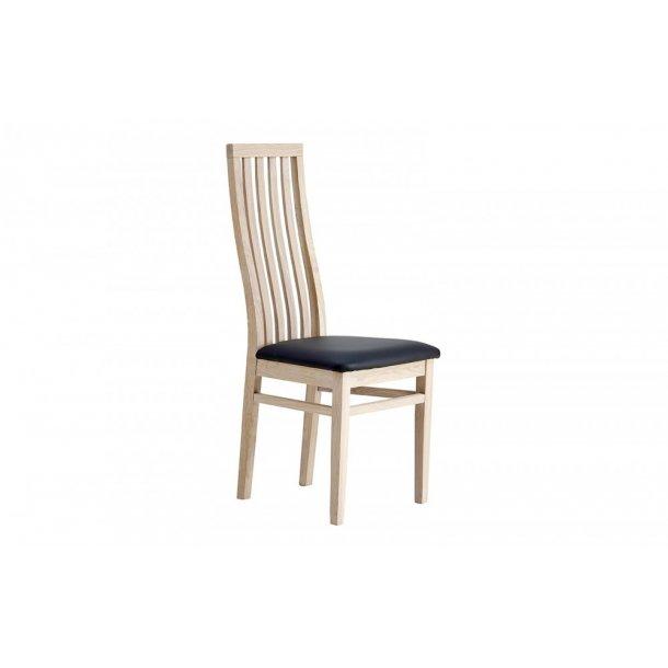 Wien stolen i eg hvidolie og sæde med sort læder look