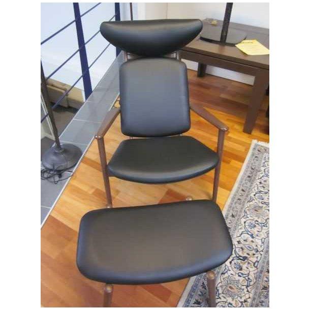 Jacobsen stol + skammel