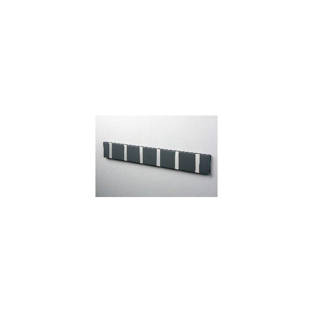 Knax knagerække Mørkegrå lakeret