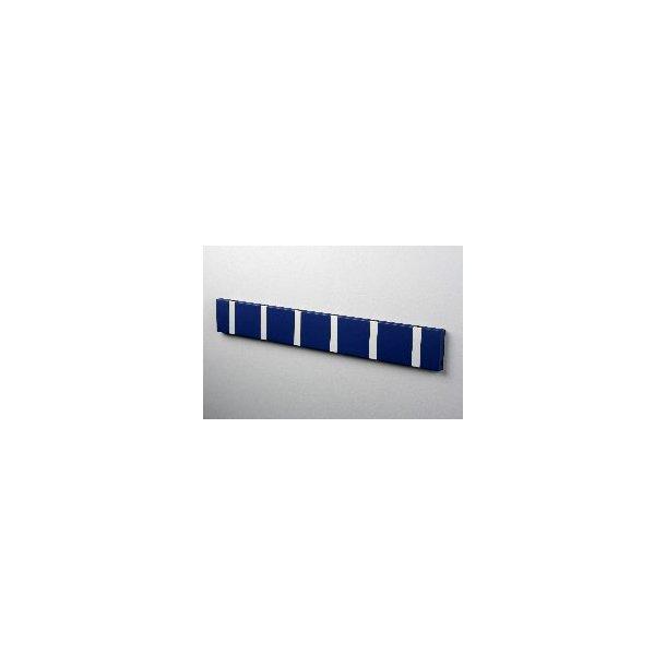 Knax knagerække Blå lakeret