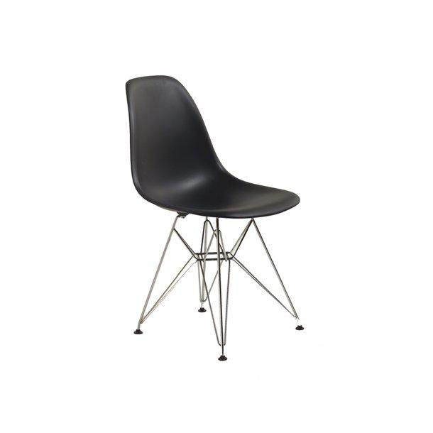 Eames - Plastic Chair (DSR) metalunderstel