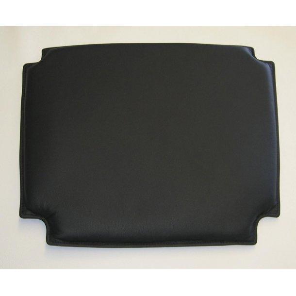Hynde til Wegner Y-stol i sort læder