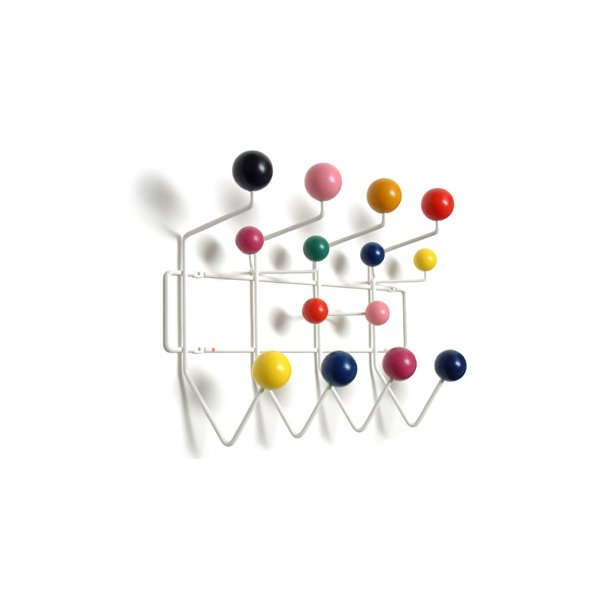 Eames - Hang It All knagerække - multi colour