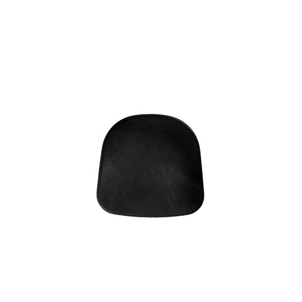 Hynde til Eames DAR stol sort læder